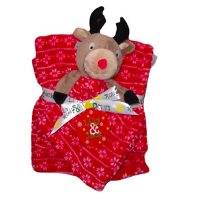 Lily & Jack Baby Soft Fleece Blanket with Plush Reindeer Ideal Gift Free P&P UK