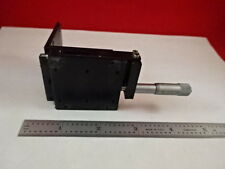 POSITIONING LINEAR SLIDE + TOOL FIXTURE AS IS B#T3-G-09