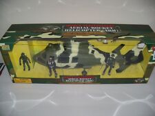 1/18 Power Team Elite Z9 ARH Combat Military HELICOPTER AS365 HH-65 gi joe force