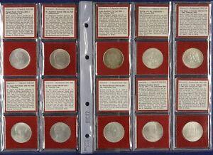 68875) 10x 2 Schilling Silber 1928-1937 Schubert bis Erlach komplett ss-vz