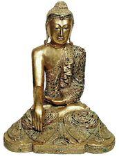Bouddha bois doré sculpté