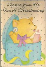 """""""Please Join Us For A Christening"""" by Magic Moments (8 cards w/envelopes)"""