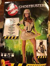 Ladies Adult Ghostbusters Costume Size Medium 12-14 - Brand new