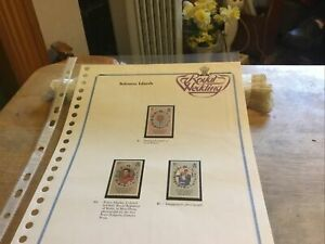 Solomans Islands Unmounted Mint Stamps Charles/di Royal Wedding