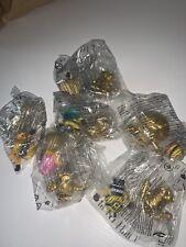 Lotto 6 Gold Minions Oro Promo 2021 Mc Donald Limited Edition Happy Meal RARE