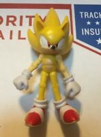 Jazwares 3 inch Super Sonic - Sonic the Hedgehog From Super Pack RARE
