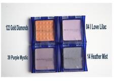Maybelline Expertwear MONO eyeshadow 122 gold 04 lilac 14 heather 39 purple