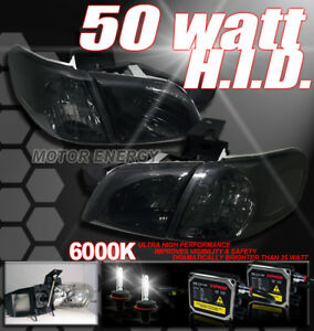 SILHOUETTE/MONTANA/TRANS SPORT HEAD LIGHT+50W HID SMOKE