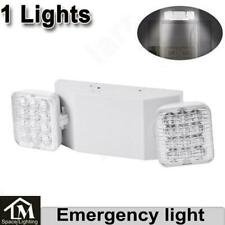 1xled Emergency Exit Light Double Dual Head Home Office Market Ul Lighting Lamp
