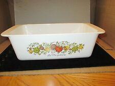 Vintage Corning Ware Bakeware Spice of Life Loaf Pan P-315-B