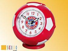 FC Bayern München Wecker Fussball Uhr - NEU -