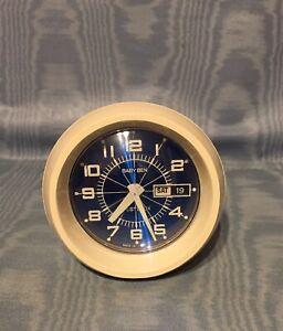 Vintage Rare  Westclox  Baby Ben  Day/Date/Time  Alarm Clock          USA