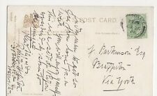 F. Parkinson Esq., Brafferton 1906 Postcard, M016