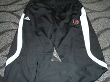 Louisville Cardinals Basketball Team Issued Adidas Black Climalite pants XL