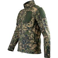 Jack Pyke Softshell Jacket Digicam Digital Camo Hunting Stalking Leisure Top