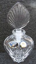 Bohemia Czech Republic Crystal Perfume Bottle - nib