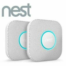 2 Pack Nest Protect Battery Operated Smoke & Carbon CO Detector Alarm S3004PWBUS