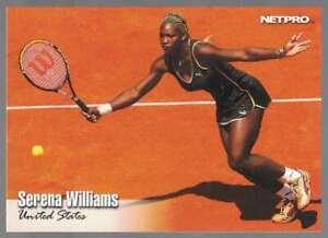 2003 NetPro Tennis #1 SERENA WILLIAMS Rookie RC