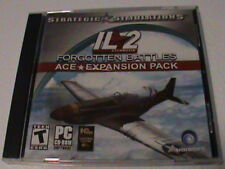 IL-2 Sturmovik Forgotten Battles Ace Expansion Pack PC CD air combat game add-on