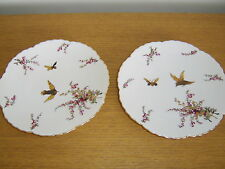 Two Fischer & Mieg Decorative Plates
