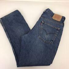 Levi's 581 06 Straight Cut Denim Jeans W36 L32. Ref 28771   A11