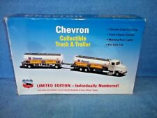 """Chevron Toy Tankers Numbered Limited Edition, 21"""" Long w/ Sound & Lights"""