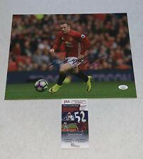 Wayne Rooney England signed Manchester United 11x14 photo Man U autographed JSA