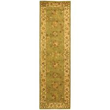 Antiquity Hand-Tufted SAGE Wool Rug 2' 3 x 12' Runner