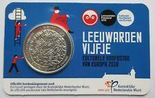 Nederland 5 euro 2018 Leeuwarden coincard (UNC)
