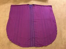 Slabbinck Monastic Chasuble Purple Woven with Gold Threads