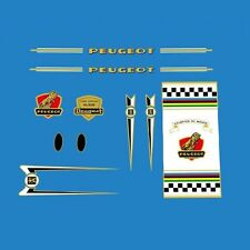 Peugeot Bicycle Frame Stickers - Decals - Transfers - n.156