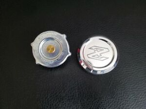 Datsun New Custom Z Logo Aluminum Radiator Cap fits 240Z 260Z 280Z 280ZX 70-83