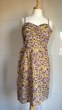 GREAT PLAINS RETRO PRINT SUMMER STRAPPY SUNDRESS, Brand New, Size S