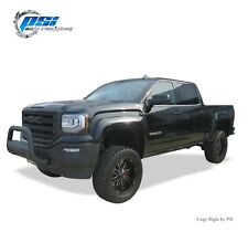 Black Paintable Extension Style Fender Flares 16-18 GMC Sierra 1500 Full Set