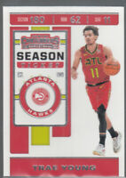 TRAE YOUNG 2019-20 Panini Contenders Season Ticket #1 Hawks 2nd Year Mint