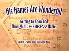 His Names Are Wonderful Getting to Know God Through Hi - Meulen Elizabe PA