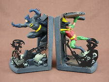 BATMAN AND ROBIN BOOKENDS - DC DIRECT LIMITED EDITION