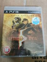 Resident Evil 5 Gold Edition (Sony PlayStation 3, 2009) new and sealed