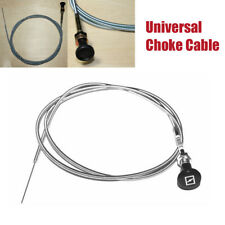 """237 Rotary Universal Push Pull Control Choke Cable 63"""" Inner 60"""" Conduit Parts"""
