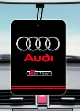 Audi S Line CAR AIR FRESHENER (Buy 3, Get 1 Free)
