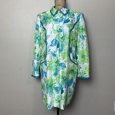 Vintage Morgan Miller Suit long floral jacket Size 12