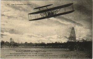 PC AVIATION, WILBUR WRIGHT AU CAMP D'AUVOURS, Vintage Postcard (b24341)