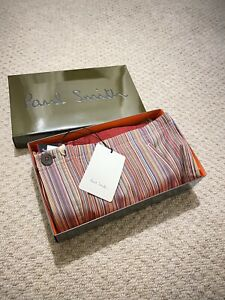 Genuine Paul Smith Signature Stripe Cotton Pyjama Bottoms -BNWT Large