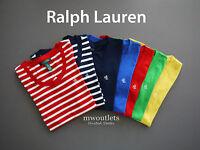 Polo Ralph Lauren WOMEN'S CREWNECK SPORT SHORT SLEEVE Perfect Pony T-Shirt