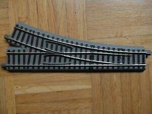 H0 Roco Geoline 61141 Weiche rechts digital DCC Decoder Elektroantrieb Bettung