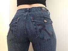 Rock & Republic KASANDRA Womens Size 12 M Flap Pocket Boot Cut Jeans Pants