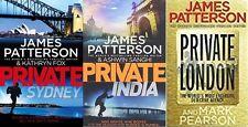 JAMES PATTERSON & ASHWIN SANGHI __ 3 BOOK SET __ BRAND NEW __ FREEPOST UK