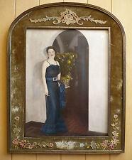 Rare Strauss Peyton, Listed, Early American tinted photograph, circa 1920s era