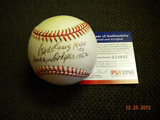 CLYDE KING AUTOGRAPHED ONLB , BROOKLYN DODGERS , PSA /DNA  !!