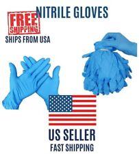 2/10/20/50/100pcs Nitrile Gloves Blue Powder & Latex Free